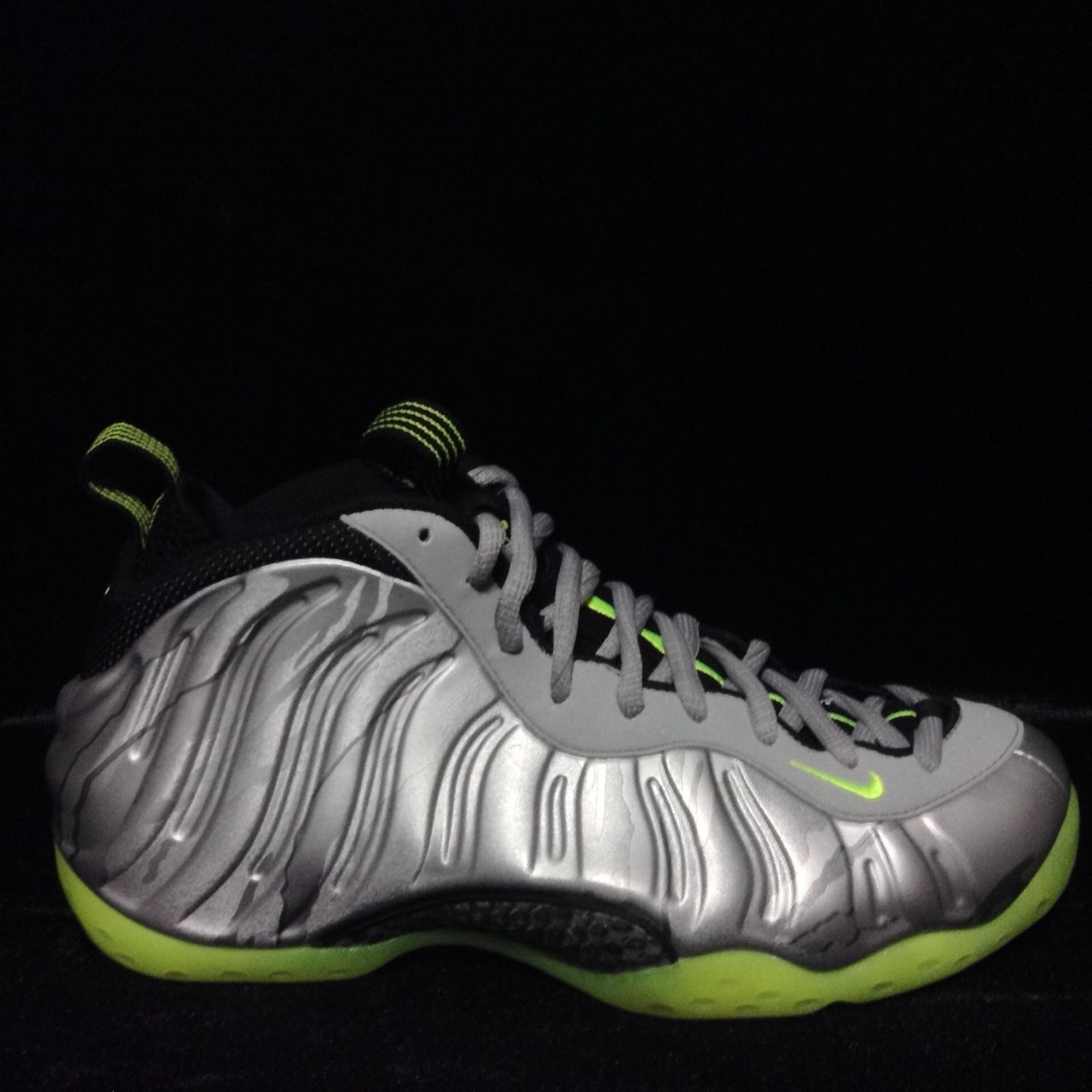 detailed look 62b37 ddd93 ... coupon code for nike air foamposite one prm metallic plata volt nuevos  575420 004 ds cómodos