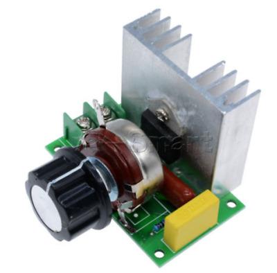 4000W 220V   tension contrôleur électronique régulateur Variateur vitesse ATB