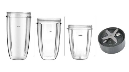 Extractor Blade Base Type 6   Cup Jug Set x 3 for NUTRIBULLET 600w 900w Blender