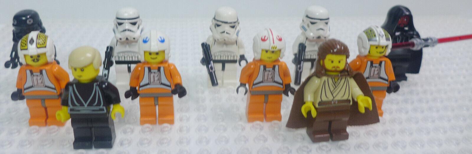 (11) estrella guerras  Minicifras  Luke cielowalker, Dak Ralter, Storm Troopers, greegs ++  prima i clienti