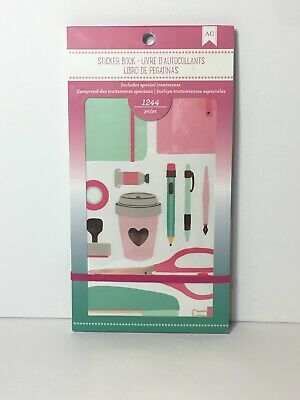 CALENDARING American Crafts Sticker Book 92964 Brand NEW Planner foil accents