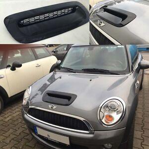 Lufthutze Glanz Schwarz Für Mini Cooper S Ab 1106 R55 Clubman R56