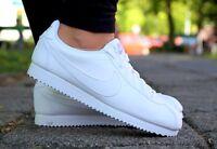 Neu Schuhe NIKE CORTEZ GS Classic Damen Retro Sneaker Turnschuhe Weiss 749502100