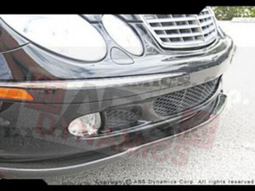 2005 2006 Mercedes Benz E Class E280 Carbon Fiber Euro Style Version 1 Front Lip
