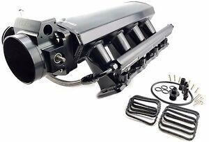 Chevy LS3 6.0 6.2L Fabricated Aluminum Ram Air Intake Manifold Black