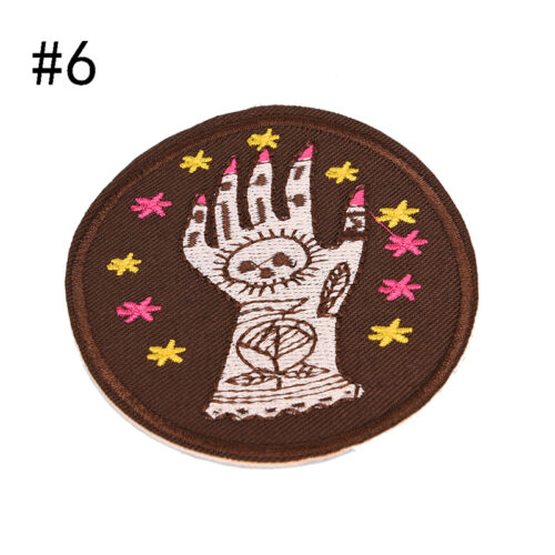 8 Style Patch Embroidered Iron On Applique patches for clothes DIY AccessoriesHI