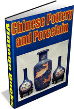 78 RARE BOOKS ON ANTIQUE CHINESE POTTERY & PORCELAIN - VASE, PLATE, FIGURINE DVD