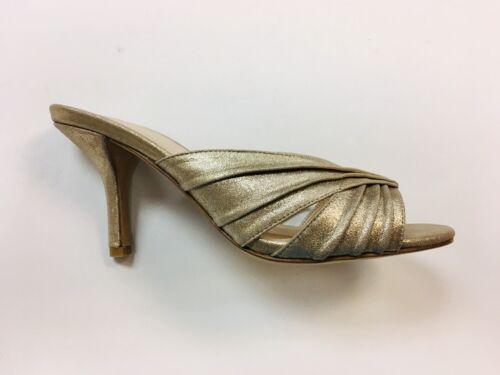 Sandali infradito moda 7m scamosciata metallizzata in Isla dimensioni 808448396668 oro pelle Plat xgwFBUq