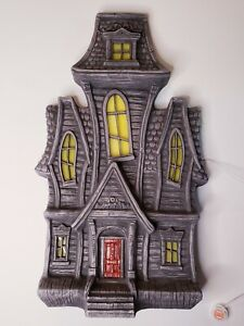 24 Inch Ashland Halloween Animated Haunted House Blow Mold ~ MIB!