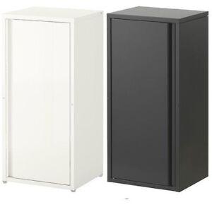 Incroyable Image Is Loading Ikea JOSEF Metal Cabinet In Outdoor Dark Grey