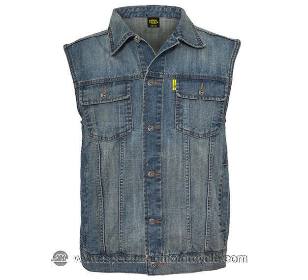 Vest Jeans Denim Size M