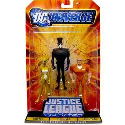 Mattel DC Universe Justice League Fan Cheetah Shade Lex Luthor Action Toy Gift