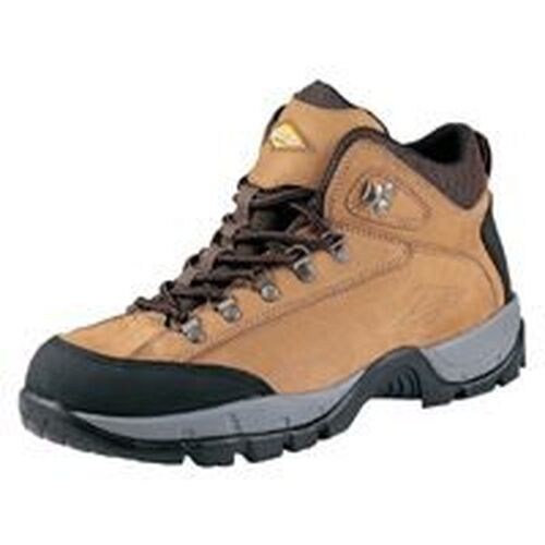 NEW DIAMONDBACK NUBUCK SOFT LEATHER HIKER STYLE TAN 12 M WORK CASUAL BOOT SALE