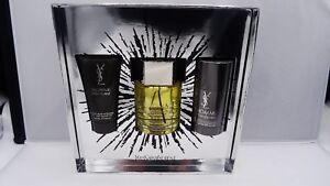 De Yves Toilette 3 Laurent Details About Saint 3 Eau L'homme Set New Spray 3 Pc wXn8O0Pk