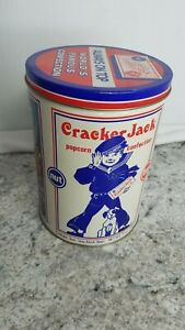 Vintage-Cracker-Jack-1990-Collectible-Limited-Edition-Advertising-Tin