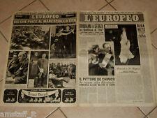 EUROPEO 1948/28=INGRID BERGMAN=GIUSEPPE BOTTAI=DE CHIRICO=MARESCIALLO TITO=