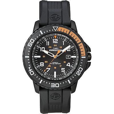 Timex Expedition Men's | Black Case & Black Resin Strap | Uplander Watch T49940