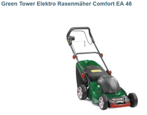 GREENTOWER Elektro Rasenmäher Comfort EA 46 NT 480 TR 1800 W