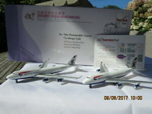 HERPA 1/500 SCALE BRITISH AIRWAYS 504065 & 504041 SET OF 2 FOR EXPRESSO WINGS