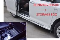 Toyota Sienna 2011-17 Running Boards Side Step-1d6 Color Painted+storage Box