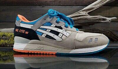 the latest 3b86c e8871 Asics Gel-Lyte III H405N Mens Sz 12.5 US Running Athletic Tennis Fashion  Shoes | eBay