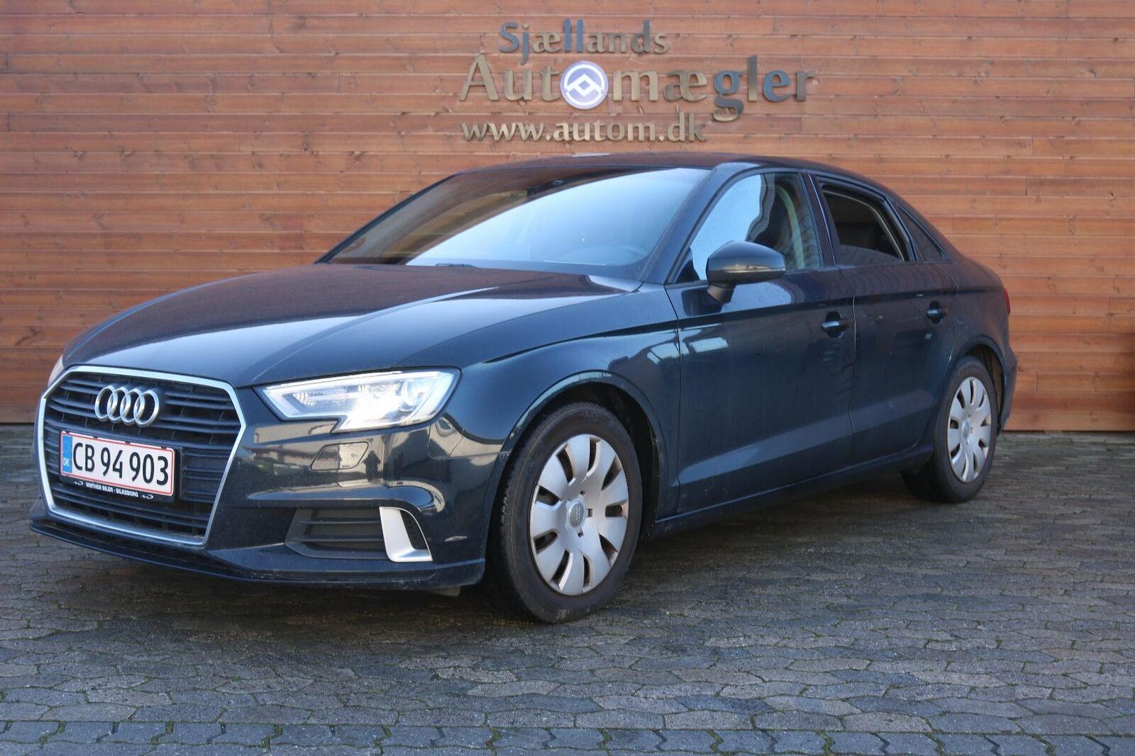 Audi A3 2,0 TDi 150 Sport 4d - 225.000 kr.