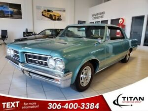 1964 Pontiac GTO 6.5L V8 | 6 Pack | Showroom Condition | Locally Traded | Manual