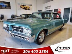 1964 Pontiac GTO 6.5L V8 | 6 Pack | Showroom Condition | Locally Tr