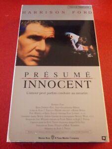 VHS-Movie-Presume-Innocent-Version-Francaise