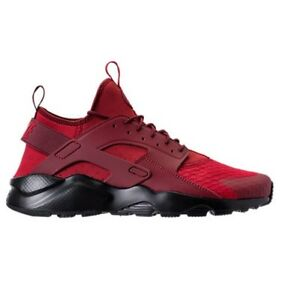 huge discount 92102 c0adb Image is loading AUTHENTIC-NIKE-AIR-HUARACHE-Run-Ultra-Red-Black-