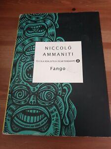 Libro-FANGO-libro-usato-in-ottime-condizioni-autore-NICCOLO-039-AMMANITI