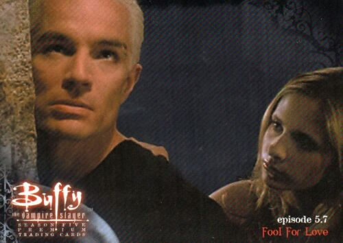 2001 Buffy The Vampire Slayer Season 5 Individual Trading Cards For Sale