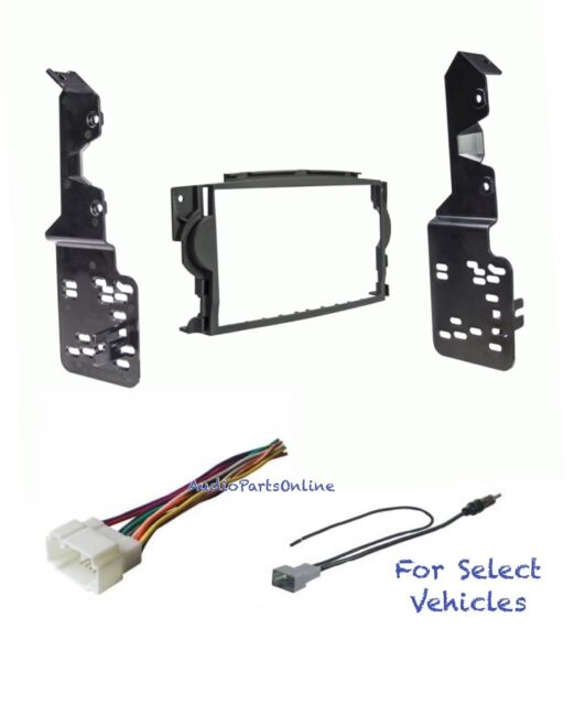 Double Din Car Stereo Radio Dash Kit Combo For 2004 2005