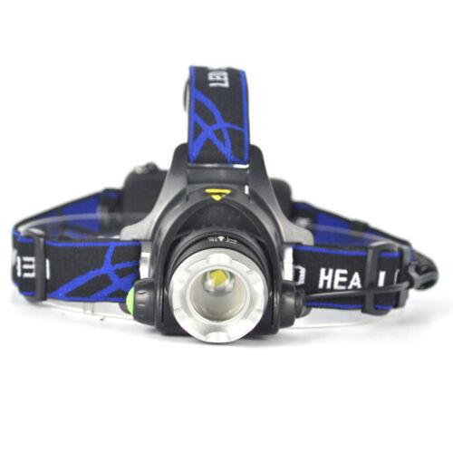 5000LM XM-L XML T6 LED Headlamp Headlight flashlight 18650 head light lamp s//MHI