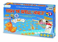 Magnetic Fishing Game Fish n' Spell learn English French Italian & Spanish words