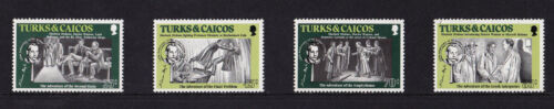 Turks & Caicos Islands 1984 Sir Arthur Conan Doyle UM SG 813816