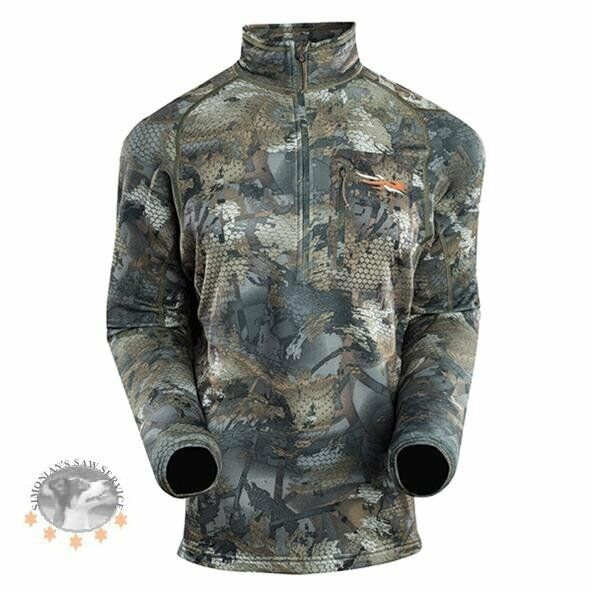 Sitka Gear Core Mid Wt Zip T Optifade Timber waterfowl Thermal Insulated 10036