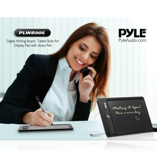 Tablet-Style Art Display Pad with Stylus Pen PLWB905 Pyle Digital Writing Board