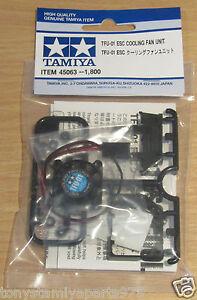 Tamiya-45063-TFU-01-ESC-Cooling-Fan-Unit-TBLE-02S-TEU105BK-TEU-106K-NIP