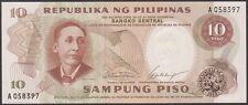 TWN - PHILIPPINES 144a - 10 Piso 1969 UNC - Prefix A