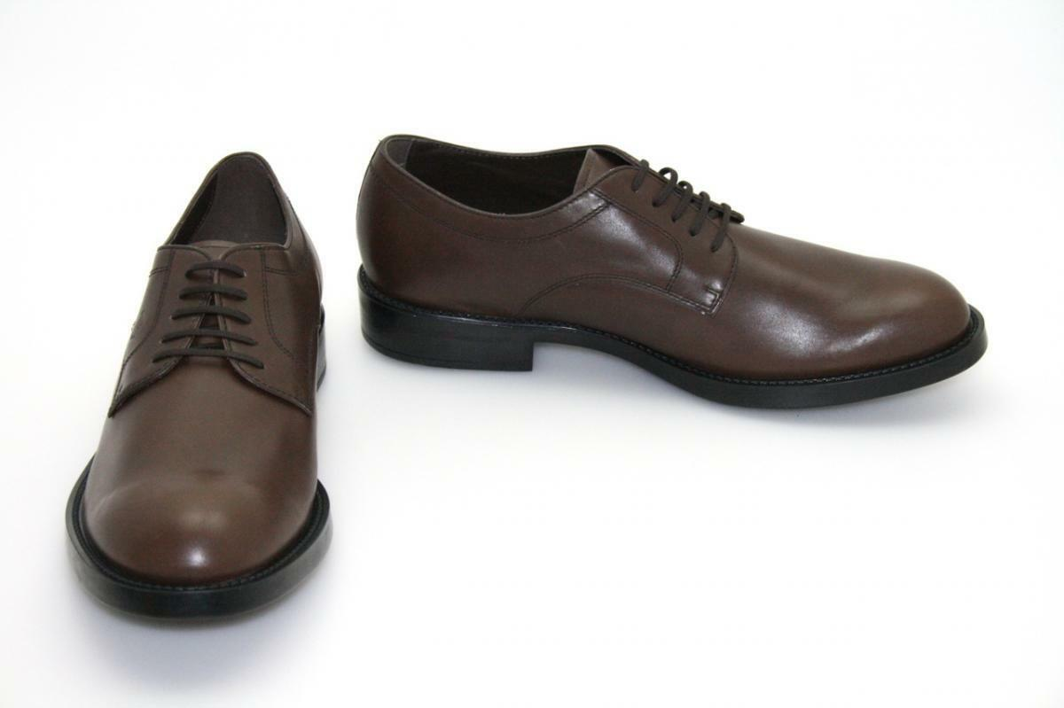 Authentic LUXURY TODS Lace-Up Scarpe GIOVANE Marrone Scuro Nuovo 8,5 8,5 8,5 42,5 43 efdbe9