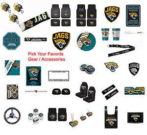 New-NFL-Jacksonville-Jaguars-Pick-Your-Gear-Car-Accessories-Official-Licensed