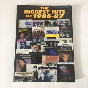 The-Biggest-Hits-Of-1986-87-Song-Book-For-Voice-Piano-Guitar-Paperbook