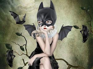 5D-Full-drill-Diamond-Painting-Cartoon-Bat-Girl-Shoe-Home-Decor-Handicraft-6382X