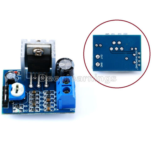 5 PCS Power Supply TDA2030 Audio Amplifier Board Module TDA2030A 6-12V Single