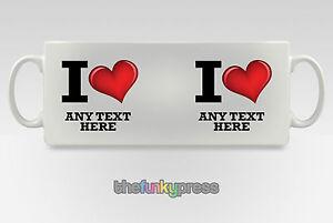 Personalizado-I-LOVE-Anadir-SU-TEXTO-Regalo-Regalo-Taza-de-Cafe-Te