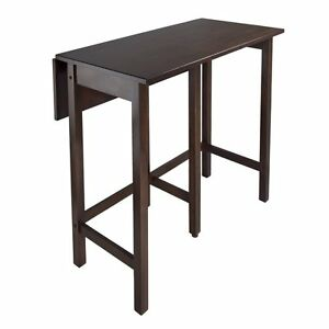 Winsome lynnwood drop leaf counter height pub table ebay image is loading winsome lynnwood drop leaf counter height pub table watchthetrailerfo