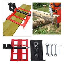 Vertical Chainsaw Mill Steel Timer Lumber Cutting Guide Chainsaw Attachment