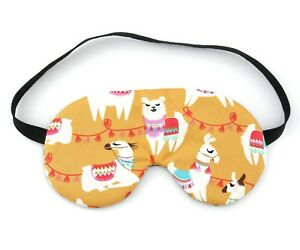 Details about Llama Sleep Eye Mask, Sleeping Eye Mask, Travel Gift
