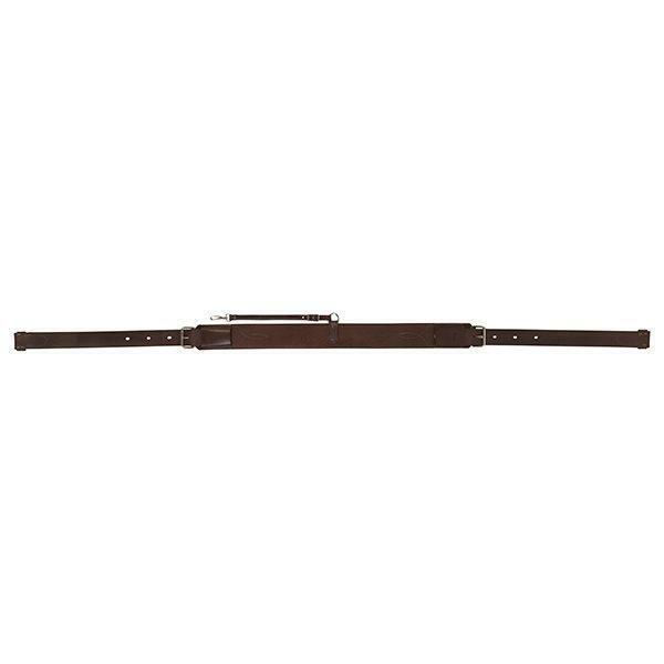 Cincha trasera Weaver de un solo capas completo con chocolate oscuro billets, 3  de ancho